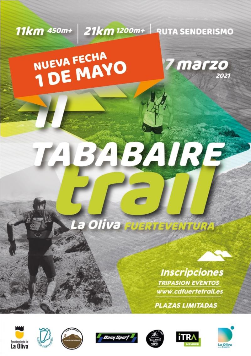 II TABABAIRE TRAIL LA OLIVA - Inscríbete